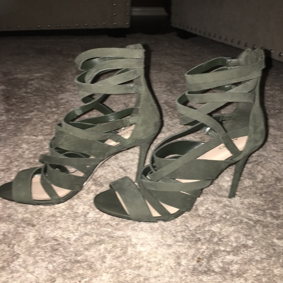 90b83d254ef Aldo Shoes - Aldo Olive Green Strappy Sandals